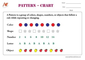 Do your kids have the ability to recognize patterns?