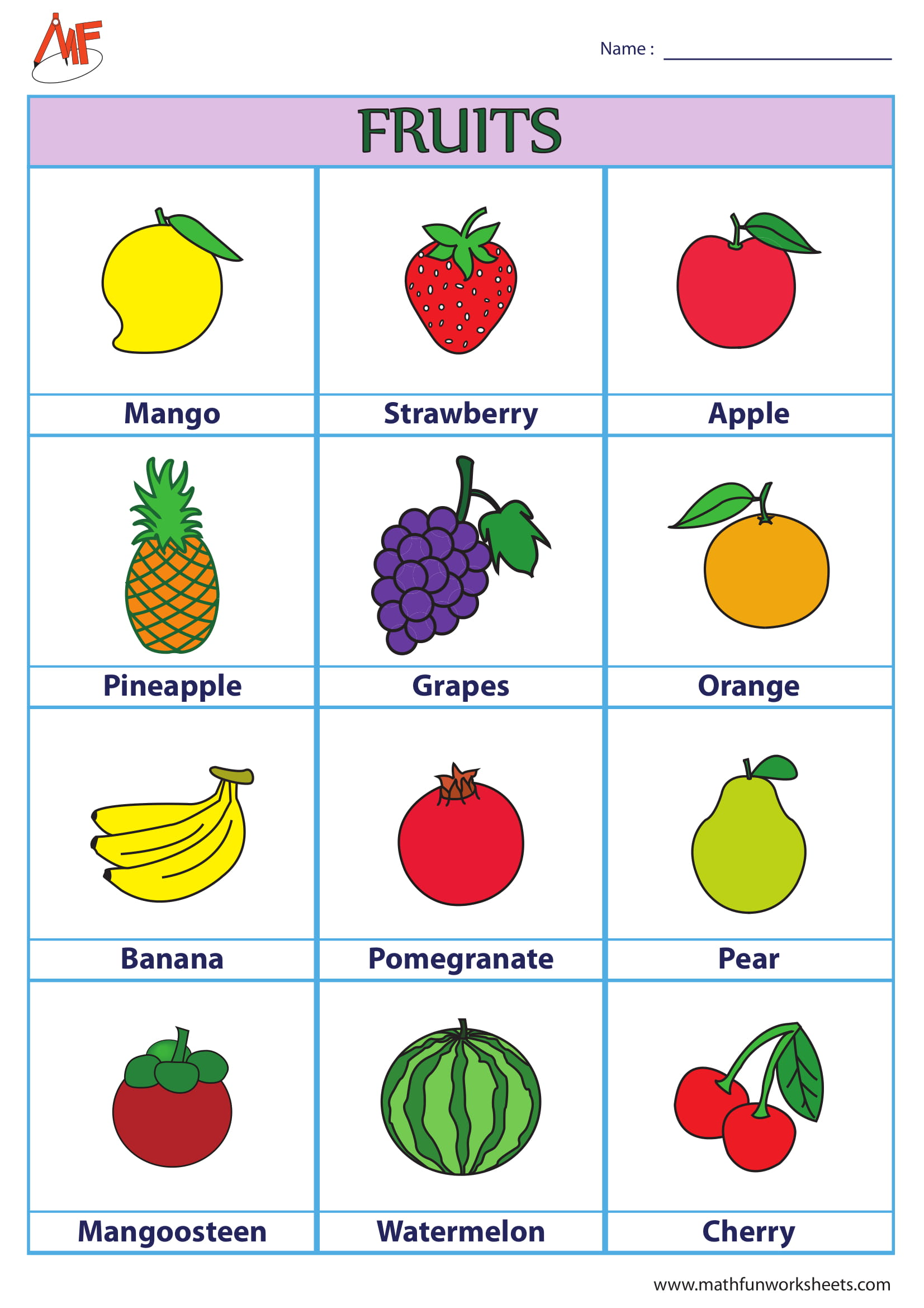 BASIC CHARTS FOR KIDS